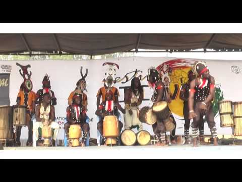 ADIAVOU 2014 TRADITIONNELLE:Ballet  ZOGBÉADJI & Le Groupe GB