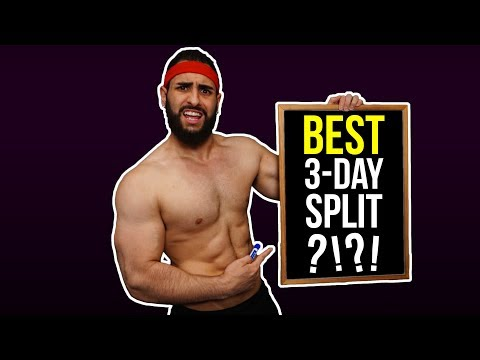 Best 3-Day Training Split Routine to Build Muscle (In-Depth, Step-By-Step Breakdown)