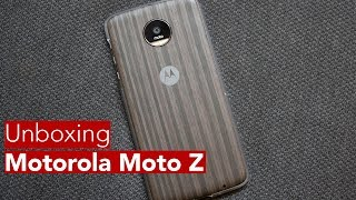 Moto Z and Moto Mods Unboxing