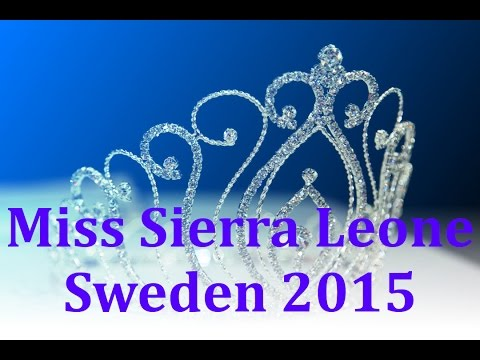 Miss Sierra Leone Sweden 2015 competition