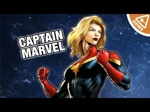 First Look at Captain Marvel's Costume! (Nerdist News w/ Jessica Chobot)