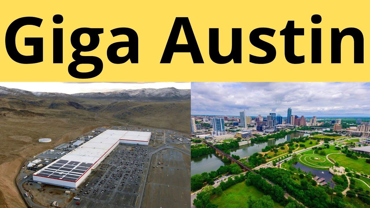 Tesla Chooses Austin As Cybertruck S Gigafactory Location Report Youtube