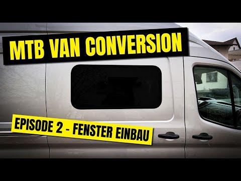 Campervan Ausbau Episode 2 - Dometic S7P Fenster einbau   Kleber der Hölle - Ford Transit