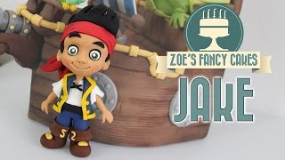 JAKE AND THE NEVER LAND PIRATES CAKE TOPPER