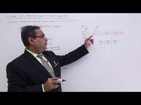 Linked List Finding Maximum And Minimum Node Info