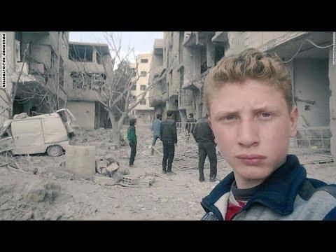 نُقتل بصمتكم.. طفل سوري بنقل معاناة سكان الغوطة الشرقية  - نشر قبل 1 ساعة