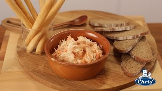 Smoked Salmon And Spring Onion Pate