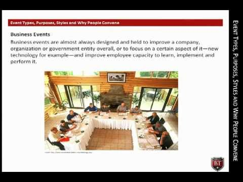 Event Types | CEME