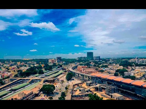 TRAVELLING FROM HEBBAL TO MANTRISQUARE |BANGALORE,INDIA|