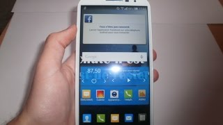 test du Alcatel ONE TOUCH  pop s9( sfr starxtreme 2)