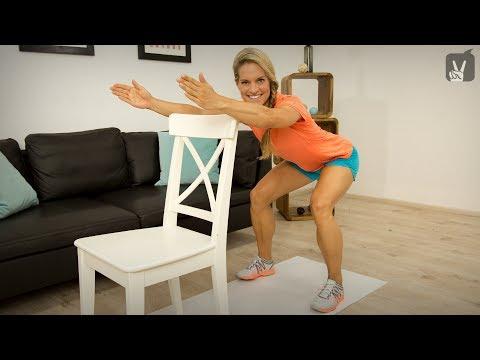 Fitness Basic Übungen für Übergewichtige