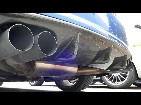 USP Catted Downpipe Sound Clip On S3