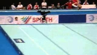 Ксения Афанасьева, вольные, Чемпионат Европы 2013