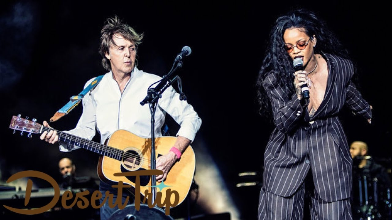 Download Rihanna Join Paul McCartney for 'FourFiveSeconds' at Desert Trip