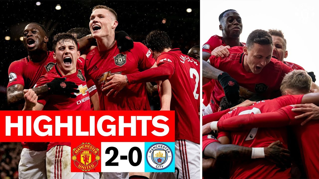 Martial & McTominay fire the Reds to derby win | Manchester United 2-0 Man City | Premier League