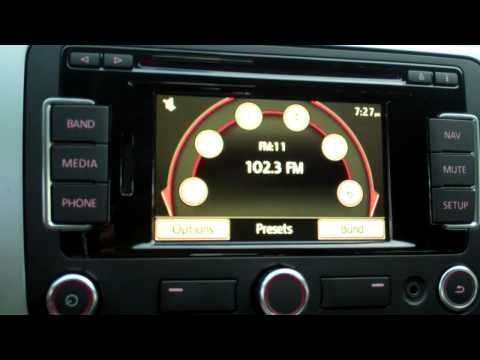 Radio Station Tuning in a 2012 Volkswagen CC