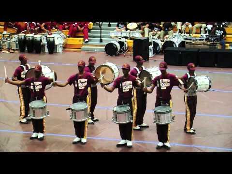 Booker T  Washington drum Line in richmond Va