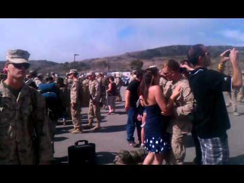 Thr return of 1st Battalion, 5th Marines from AFG.