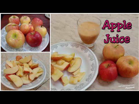 how-to-make-fresh-apple-juice-||-homemade-apple-juice-|-apple-juice-recipe-in-urdu/hindi