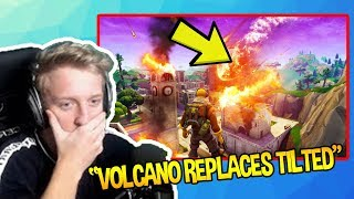 STREAMERS REACT TO TILTED TOWERS *DESTROYED* BY *EARTHQUAKE* SHOCKING | Fortnite Funny Moments