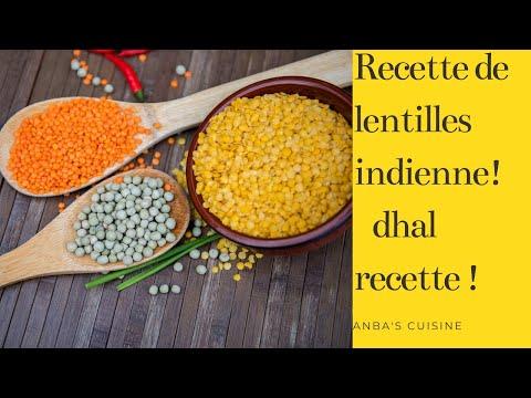 recette-de-lentilles-indienne-|-lentilles-àl'indienne-|-dhal-recette