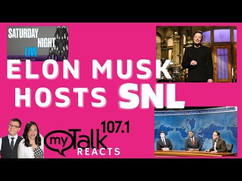 Elon Musk Hosts SNL - Jason & Alexis React with mixed reviews