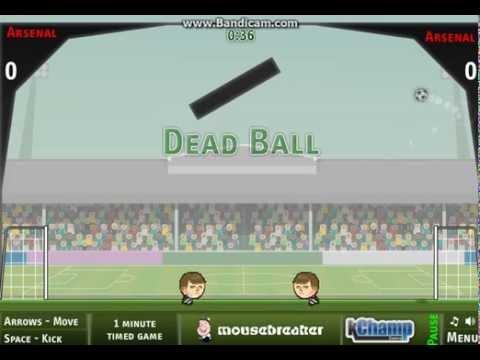 Flash Игра Футбол головами