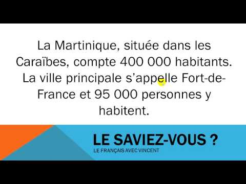 Facts about France #La Martinique