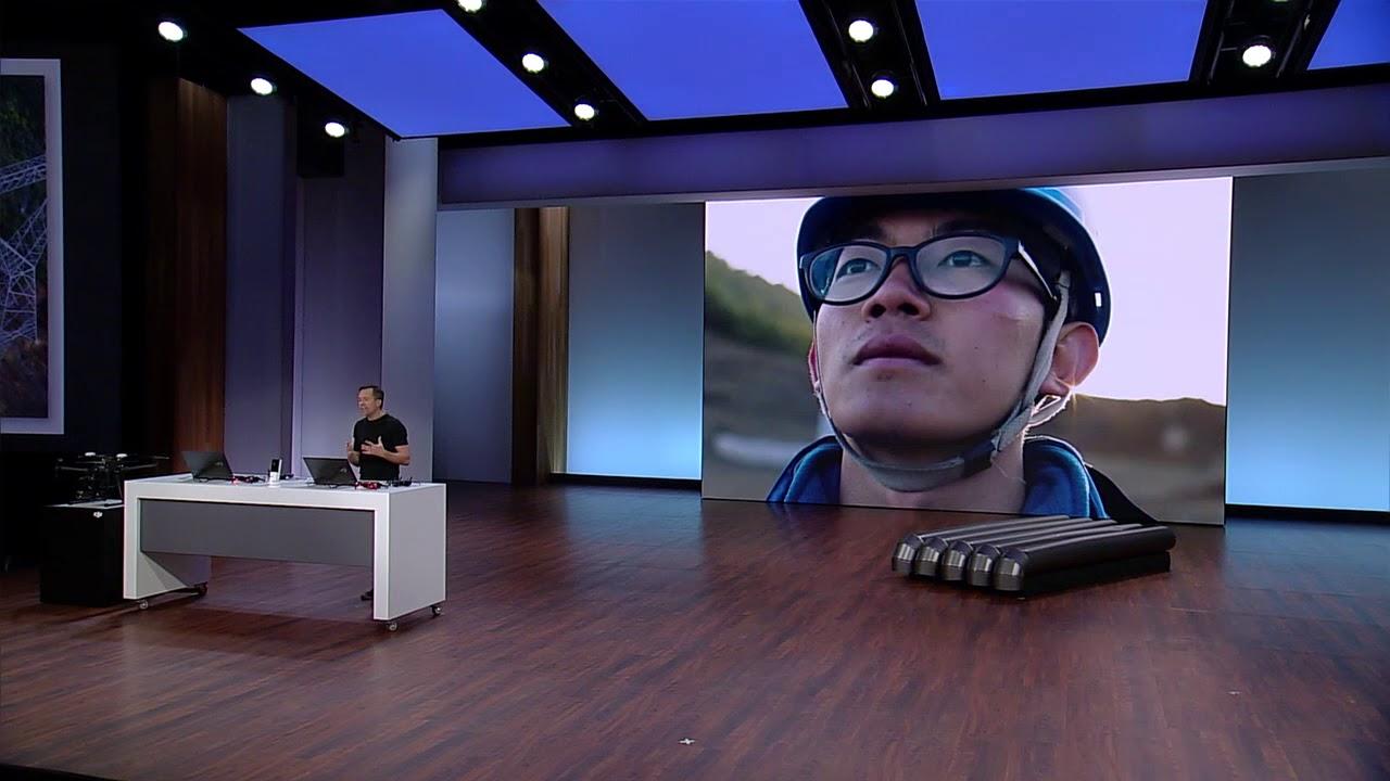Microsoft Build: DJI Drone Demo - DJI 2018-05-09 16:57