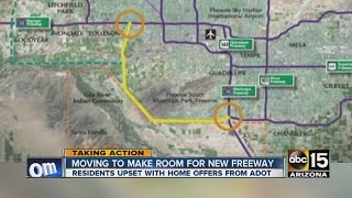 Moving to make room for new freeway