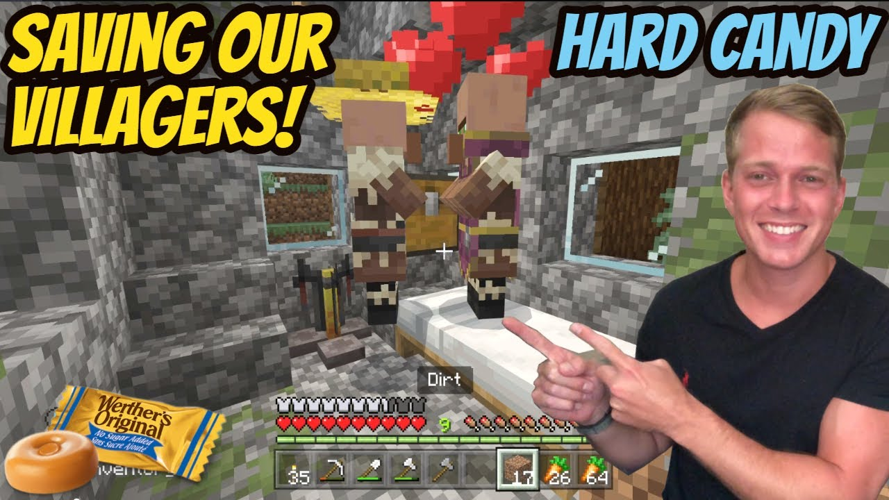 ASMR Gaming: Minecraft | Saving Our Villagers! - Hard Candy & Whispering