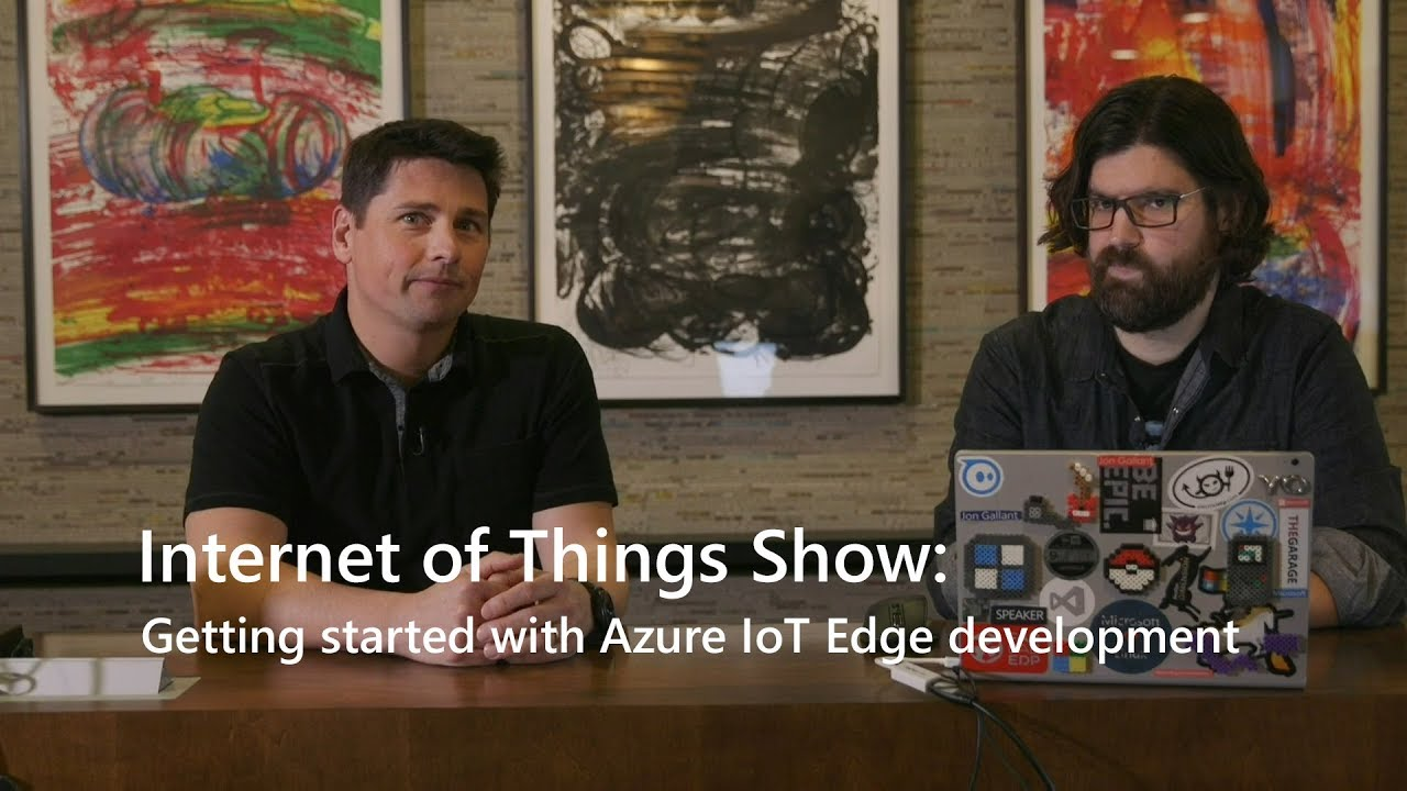 Getting started with Azure IoT Edge development