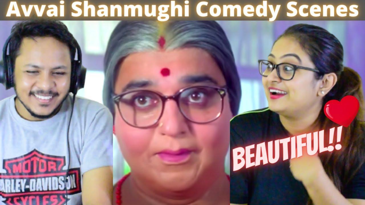 Avvai Shanmughi Tamil Movie Comedy Scenes Reaction | part 02 | Kamal Haasan | Meena | Gemini Ganesan