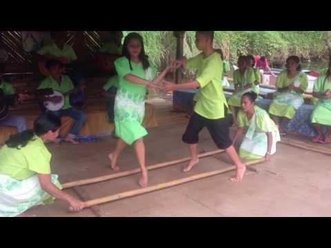 Danse des bambous, Ile de Bohol, Philippines