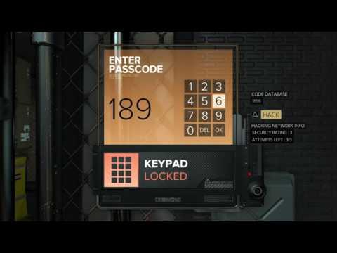 Deus Ex: Mankind Divided: RVAC Row 7th Floor Storage Room Terminals