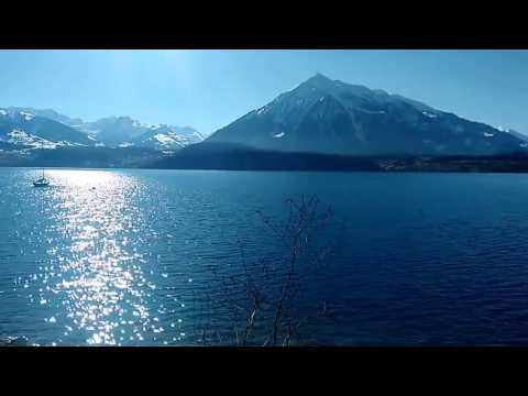 Lac de Thoune, Berne, Suisse