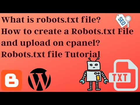 what-is-robots.txt-file-and-how-to-create-and-upload-|-robots.txt-tutorial