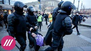 Жесткие задержания и электрошокеры как отличились силовики в Петербурге на акции за Навального