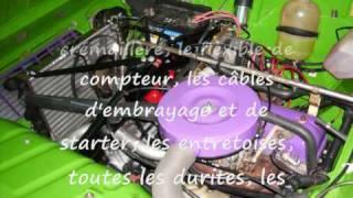 4L'astic - 4L Trophy 2009 - Mécanique moteur