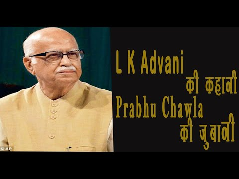 Seedhi Baat L K Advani with Prabhu Chawla