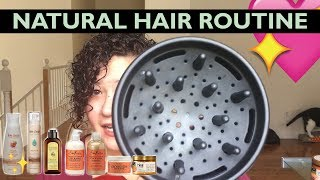 NATURAL HAIR ROUTINE | LOC METHOD | PRODUCTS AND TIPS