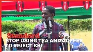 CS Peter Munya tells Irungu Kang\'ata to stop using coffee and tea sectors as reasons to reject BBI