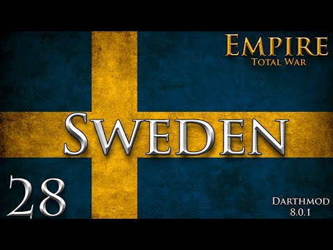 Empire Total War: Darthmod - Sweden Campaign #28 ~ Race To Turin!