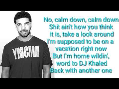 French: Drake - No Shopping (Lyrics)