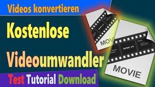 Kostenlose Video Converter Deutsch: Videos umwandeln (Test & Tutorial)