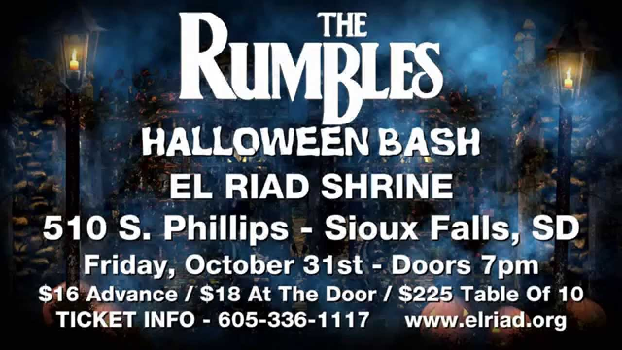 the rumbles - halloween bash 2014 - sioux falls, sd - youtube