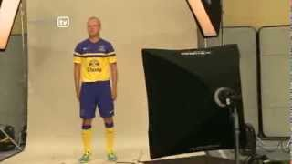 Everton's 2013/14 away kit revealed