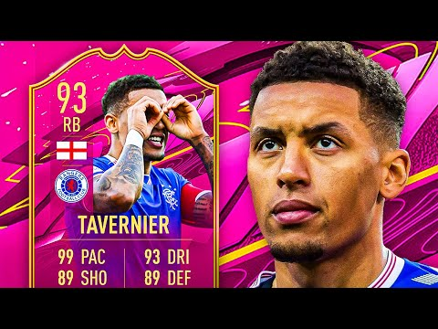 OBJECTIVES IN JULY?! 😎 93 FUTTIES TAVERNIER PLAYER REVIEW! - FIFA 21 Ultimate Team