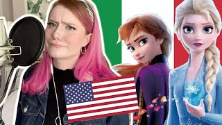 i tried to sing a song from Frozen 2, but in Italian