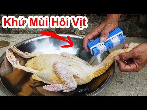 Cách Khử Bay Mùi Hôi Của Vịt Trong 3 Giây Cực Hay / Mẹo Khử Mùi Hoi Vịt Đơn Giản . deodorize duck